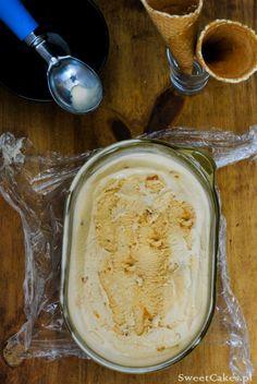 Lody karmelowe Caramel Ice Cream Caramel Ice Cream, Hummus, Ethnic Recipes, Food, Essen, Meals, Yemek, Eten