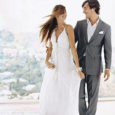 Wedding Groom Attire grey beach   attire at beach wedding??? : wedding beach beach attire groom grooms ...