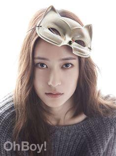 f(x)'s Krystal Oh Boy! Korea Magazine
