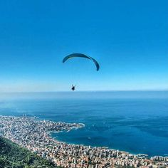 Flying over Jounieh – by Sara el Dana