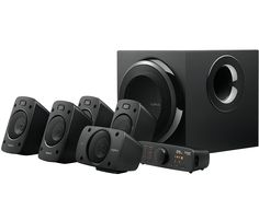 Logitech G enhances your game comfortable and customizable surround sound, Dolby Digital, and THX Certified speakers and headsets. Surround Sound Speakers, Surround Sound Systems, Logitech Speakers, Wireless Speakers, Dolby Digital, Playstation, Musik Player, Best Home Theater System, Smartphone