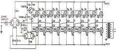 1KVA (1000 watts) Pure Sine Wave Inverter Circuit