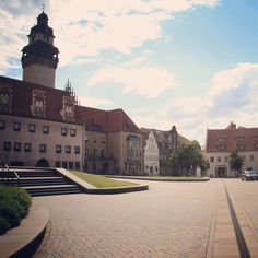 Rathaus mit Markt #zeitz #altstadt
