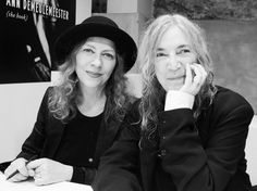 Ann Demeulemeester and Patti Smith