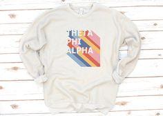 Alpha Phi Omega, Alpha Epsilon Phi, Alpha Sigma Alpha, Gamma Sigma Sigma, Kappa Kappa Gamma, Sorority Gifts, Sweatshirts, Bella Canvas, Art Art