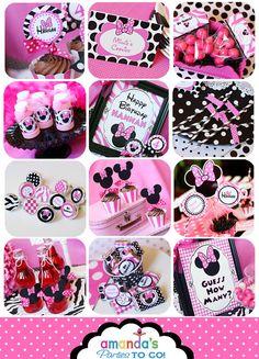Minnie Mouse Birthday Invitation Minnie by AmandasPartiesToGo