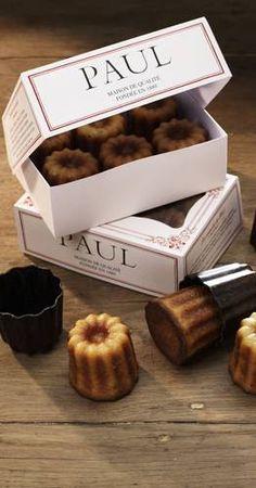 CANELÉS Originellement préparé par des religieuses, le canelé a été relancé en 1830 par un pâtissier de la ville de Bordeaux dont le petit gâteau parfumé au rhum et à la vanille est très vite devenu la spécialité