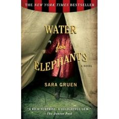 Water for Elephants by Canadian author Sara  Green  Great book. Way better than the movie.