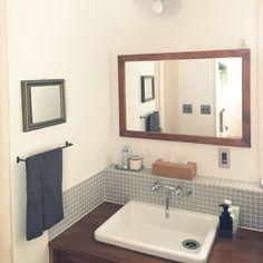 Bathroom/無印良品/ニトリ/リノベーション/toto/実験用シンクのインテリア実例 - 2017-07-03 04:42:12 | RoomClip (ルームクリップ)