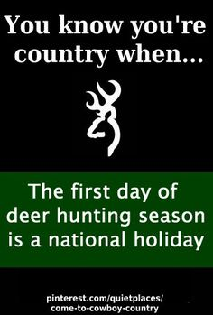 Deer season http://pinterest.com/quietplaces/come-to-cowboy-country/