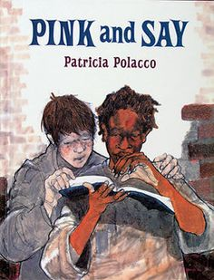 Pink and Say ~ Powerful story of the unlikely friendship of two boys in the civil war told in picture book format. Patricia Polacco is a master storyteller who weaves her own history into the book to make it wonderfully meaningful. 5th Grade Social Studies, Teaching Social Studies, Teaching History, History Education, Notice And Note, Patricia Polacco, Civil War Books, Interactive Read Aloud, Interactive Stories