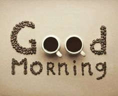 Good morning coffee cups cute nice idea creative by daryna k Special Good Morning, Latest Good Morning, Good Morning Images Hd, Good Morning Gif, Good Morning Picture, Good Morning Messages, Good Morning Friends, Morning Pictures, Good Morning Wishes