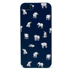 Coque iPhone 5/5S Multiples Éléphants Tribaux