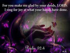 Psalm92:4