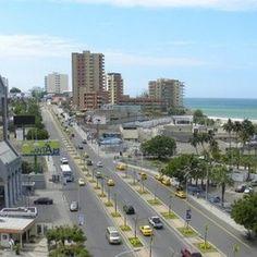 Avenida del malecón, junto a la playa El Murciélago.