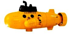 Remote Control Submarine Underwater Explorer Sub Full Function RC Blue Hat New #BlueHat