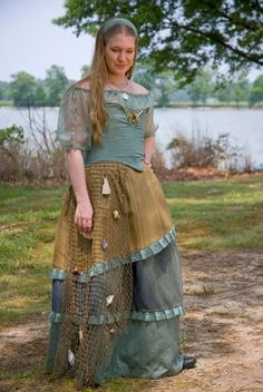 Wolfstone Kilt Co 'Mermaid' Dress    PERFECT for a water sprite, or sea faring maiden.