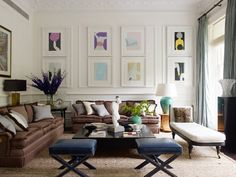 :: Havens South Designs :: loves the composition and color of this Nicholas Haslam design