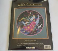 The Gold Collection Mystical Wizard Cross Stitch Kit James Himsworth 1997