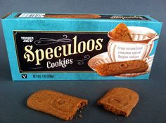 Speculoos - used to make cookie butter - Trader Joes Speculoos Cookies, Spice Cookies, Cookies Vegan, Vegan Foods, Vegan Snacks, Vegan Sweets, Vegan Desserts, Trader Joes Vegan, Trader Joe's