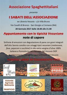 28/01 - ex-Libreria Vesuvio - Villa Bruno - Appuntamento con le tipicità Vesuviane: note di sapore