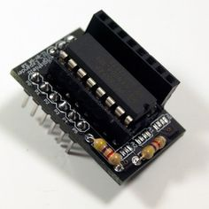 I/O Expander Kit*  The Expander Shield Kit allows you to build a Digispark shield which connects a PCF8574P Remote 8-bit I/O expander IC to t...