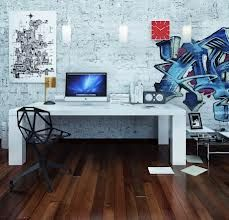 unisex home office area