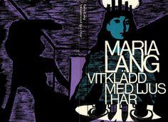 vitkladd med ljus i har, cover by svenolov ehren, 1972