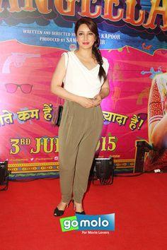 Tisca Chopra at the Premiere of Hindi movie 'Guddu Rangeela' in Mumbai