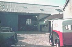 Early Falles Motor Works garage.