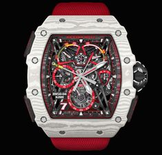 Shop the limited edition Richard Mille RM Kimi Räikkönen Tourbillon Split-Seconds Chronograph, brand new watch in better price. It is premium class luxury watch comes with original box, papers and Manufacturer Warranty Full Set.Richard Mille [NEW] Richard Mille, Brm Watches, Breitling Watches, Graham Watch, Audemars Piguet Watches, Watches Photography, Split Second, Watch Sale, Chronograph