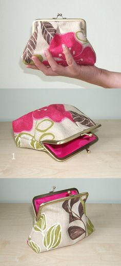 Adorable handmade purse.