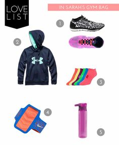 the fit lift: what's in sarah's gym bag