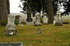 Round Mound Cemetary, Atchison, Kansas - Time Magazine listed this as one of the most haunted places on earth - phantom screams, shadow figures, voices