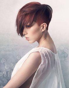 Haircut Short Hairstyles For Women, Cute Hairstyles, Short Hair Cuts, Short Hair Styles, Hair Romance, Great Cuts, Hair Images, Shaved Hair, Hairspray