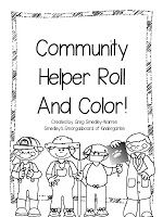 Community helper roll and color (differentiated!) freebie!