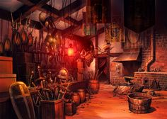 Blacksmith's shop                                                                                                                                                                                 More