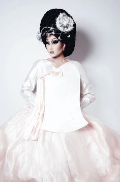 """Season Eight of """"RuPaul's Drag Race"""" is down to its final four contestants, and Chicago powerhouse Kim Chi is still in the running. Drag Queens, Kim Chi Drag, Rpdr Season 8, Rupaul Drag Queen, Amy, Save The Queen, Glamour, Model, Fashion Design"""