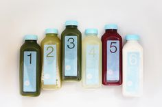 If you don't gave the time to prepare your own juice to jumpstart a cleanse try these! Transform your bod! - the daybook