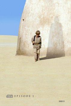 Star Wars prequel trilogy teaser posters