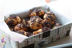 Mini Croissants de Chocolate Mini Croissants, Chocolate Croissants, Bagel, Kids Meals, Oven, Muffin, Food And Drink, Favorite Recipes, Breakfast