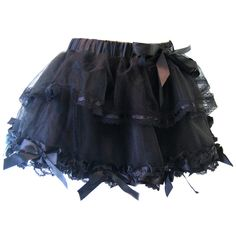 Poizen Industries Mace Tutu Black | Gothic Clothing | Emo clothing | Alternative clothing | Punk clothing - Chaotic Clothing, found on polyvore.com