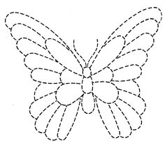 Tin Punch Butterfly Pattern
