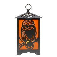 12 inch LED Owl Light-Up Lantern