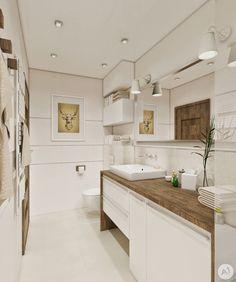 STUDIO: Projekt łazienka w ciepłych kolorach - 'makeover' Narrow Bathroom, Bathroom Sets, Modern Bathroom, Bathroom Toilets, Laundry In Bathroom, Design Your Own Bathroom, Design Hotel, House Design, Amazing Bathrooms