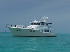 Need one of these for retirement. Next year @ age 37 ; Trawler Yacht, Trawler Boats, Luxury Yachts For Sale, Yacht For Sale, Cool Boats, Small Boats, Small Sailboats For Sale, Explorer Yacht, Expedition Yachts