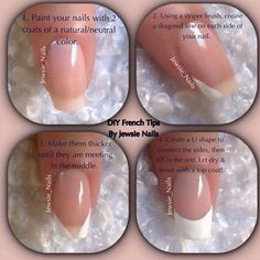 French Manicure Tutorial...I'll try one more, but I've pretty much given up at this point!