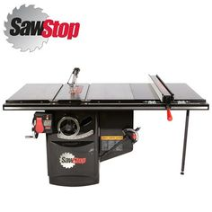 """Industrial Cabinet Saw W/52"""" T-Glide Fence Assembly"""