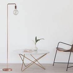Cool Floor Lamp - Copper by Frandsen Lighting #MONOQI