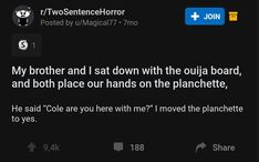 30 Two-Sentence Horror Stories To Send Shivers Down Your Spine (New Posts)